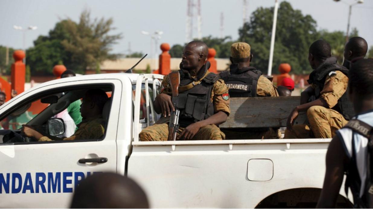 Imagen de soldados en la ciudad de Uagadugú en 2015. Archivo.