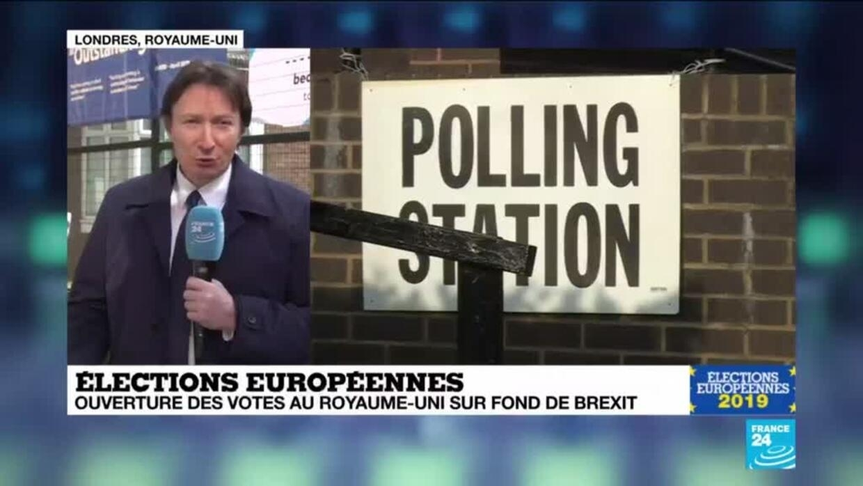 Elections Européennes Au Royaume Uni: Élections Européennes : Ouverture Des Votes Au Royaume-Uni
