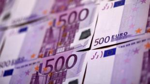 Près de 600 000 coupures de 500 euros étaient en circulation en mars 2016.