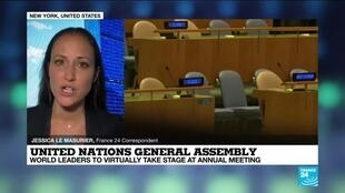 2020-09-22 13:01 World powers set to take the stage, virtually, at UN debate
