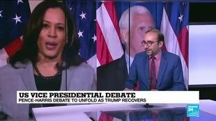 2020-10-07 15:10 US Vice Presidential debate: Harris and Pence to face off in Salt Lake City