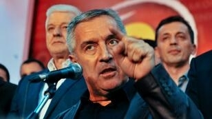Montenegro's pro-western Milo Djukanovic, pictured here on October 2016, announced on March 19, 2018 his political comeback as he will run for the presidency next month.
