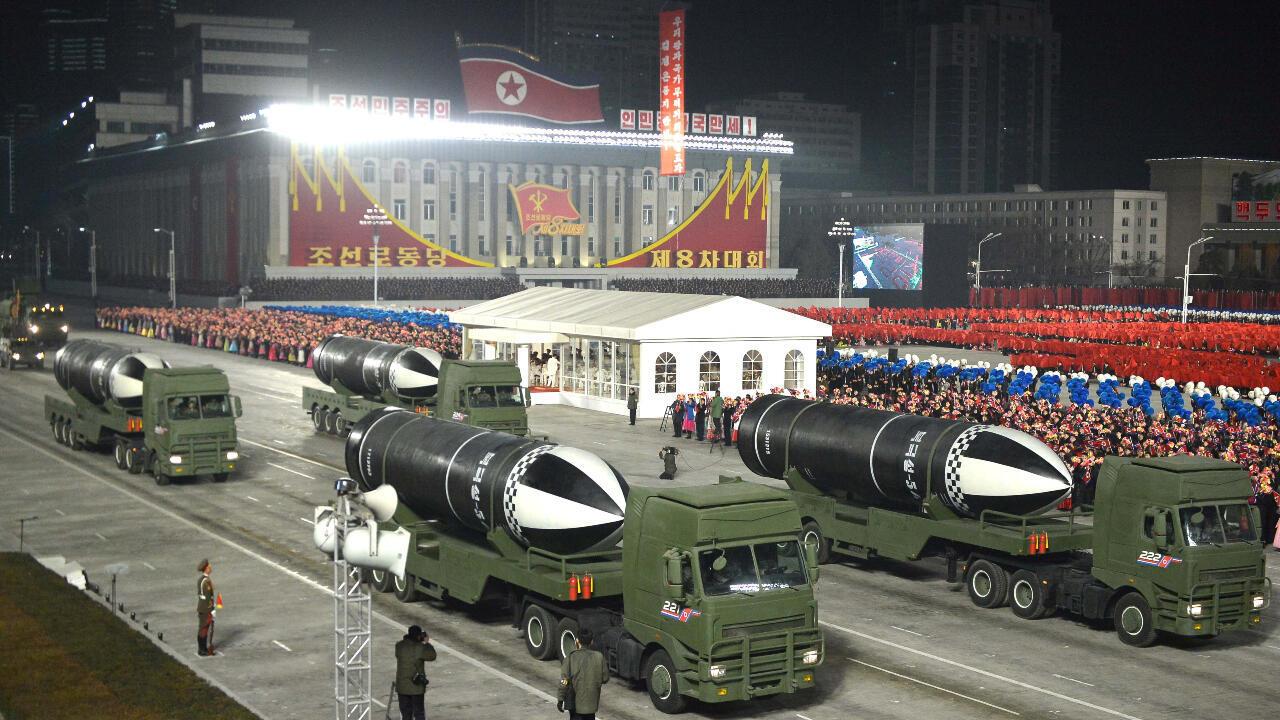 misiles nucleares corea del norte