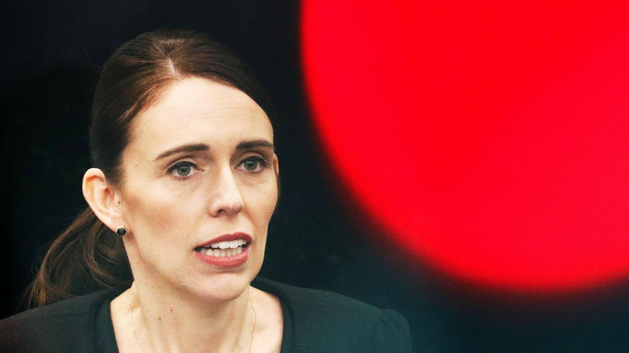 La primera ministra de Nueva Zelanda, Jacinda Ardern, en una rueda de prensa el 20 de marzo de 2019, dijo que su país confrontará al presidente de Turquía por sus comentarios con relación a los ataques contra dos mezquitas en Christchurch, el pasado 15 de marzo.