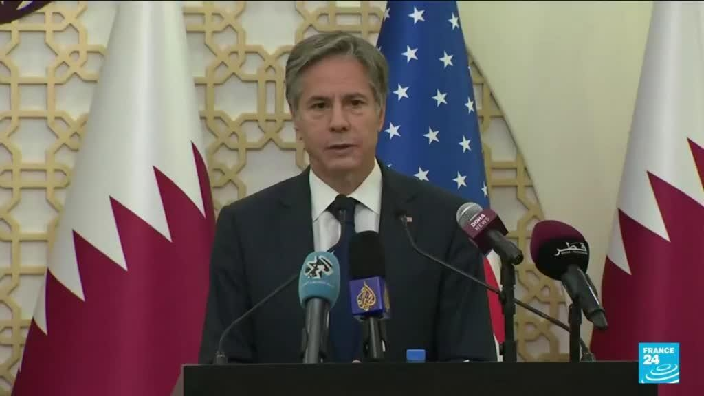 2021-09-07 11:03 Blinken says US working with Taliban on flights