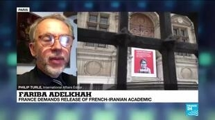 2020-06-05 17:03 Fariba Adelkhah's detention 'to badly affect relations' between France and Iran