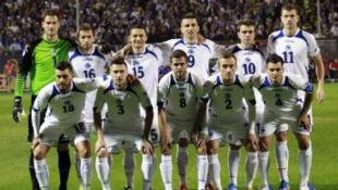"""Les """"Dragons de Bosnie""""."""