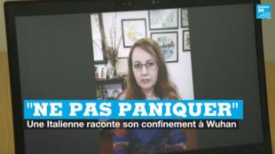 Ressortissante italienne, Sara Platto a vécu 50 jours de confinement à Wuhan, l'épicentre de l'épidémie de coronavirus.