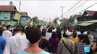 2021-04-16 14:11 Mouvement anti-junte en Birmanie : formation d'un gouvernement parallèle d'unité nationale