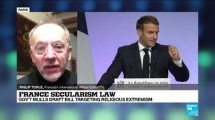 2020-12-09 13:03 Macron seeks backing for law against 'radical Islamism'
