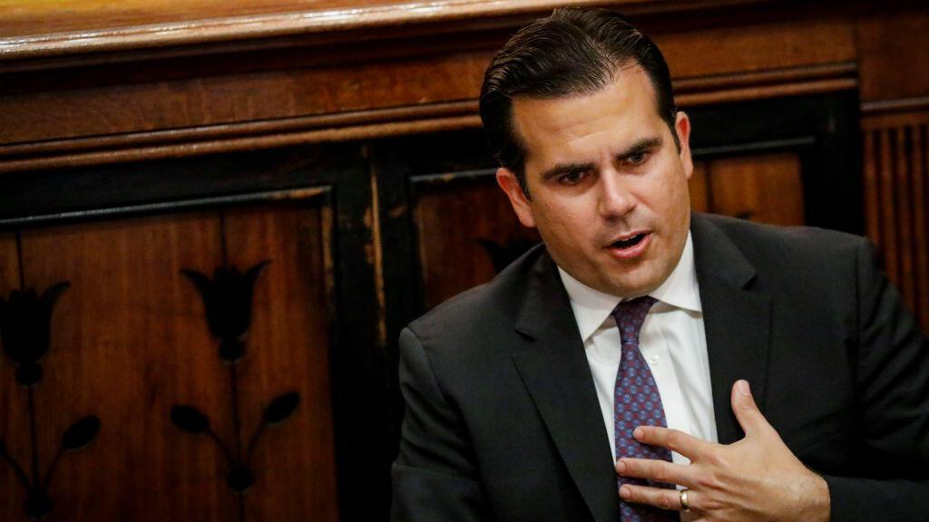 Ricardo Rosselló, el gobernador de Puerto Rico, le pidió a Estados Unidos 94.000 millones de dólares para reconstruir la isla tras el paso de los huracanes Irma y María.