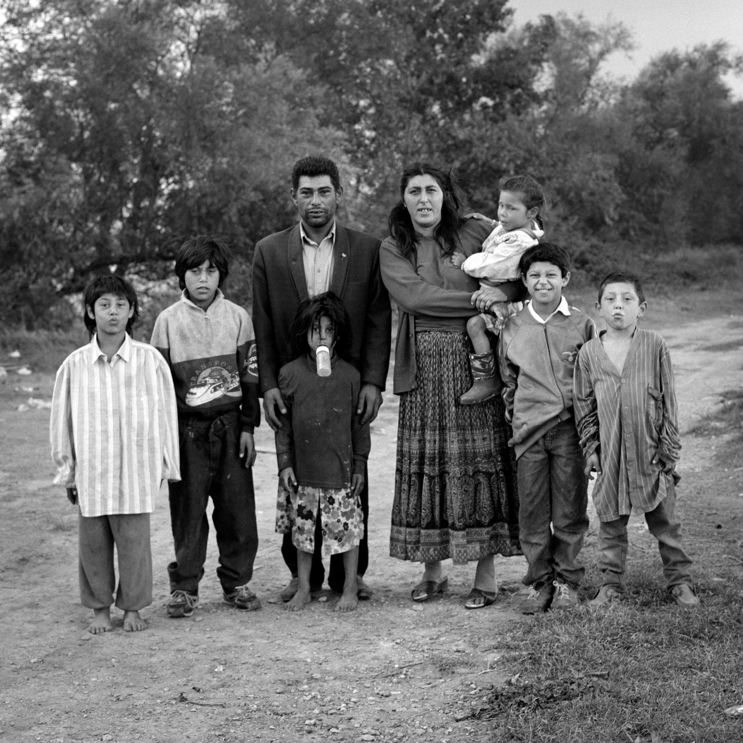 La famille Gorgan à Arles en 1995