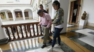 Le général à la retraite Angel Omar Vivas, l'un des prisonniers politiques libérés le 1er juin au Venezuela.