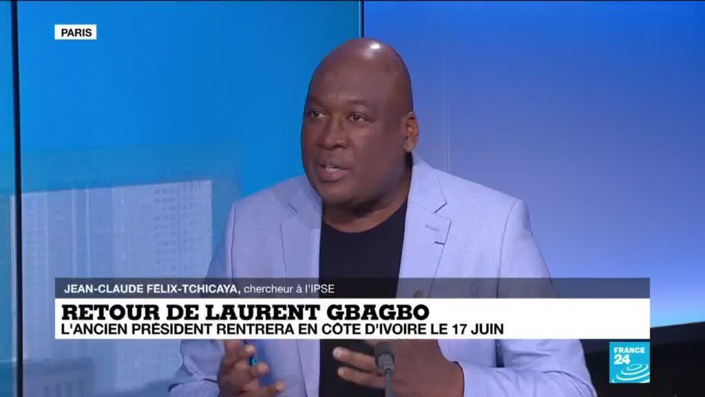 2021-06-01 14:02 Retour de Laurent Gbagbo