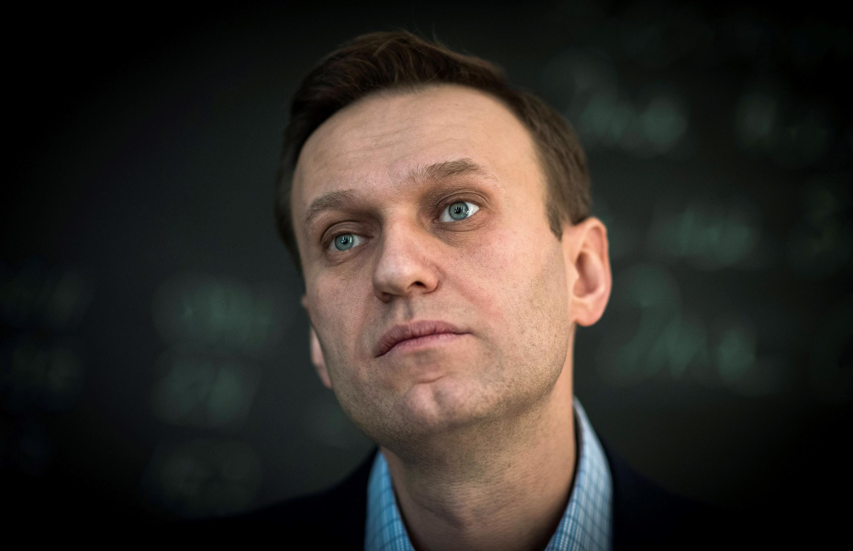 Foto de archivo del opositor ruso Alexéi Navalny, tomada en 2018 en Moscú, Rusia.