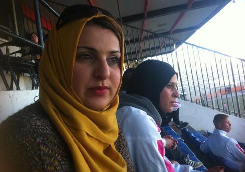نادية براهيمي رئيسة نادي قسنطينة لكرة القدم سيدات