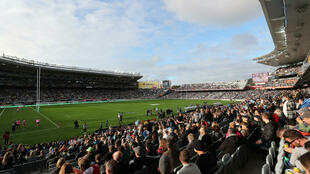 More than 43,000 packed the ground in the largest turnout at a Super Rugby match in New Zealand for 15 years.