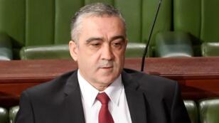 وزير الداخلية التونسي المقال لطفي براهم