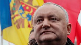 Le président Igor Dodon a été suspendu par la Cour constitutionnelle moldave le 9 juin 2019.