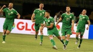 يوسف بلايلي أهدى هدف الفوز لمنتخب بلاده بتسديدة قوية في مرمى السنغال.