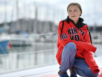 Greta Thunberg en route vers New York à bord d'un voilier zéro carbone