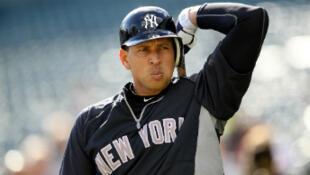Alex Rodriguez, joueur vedette des New York Yankees