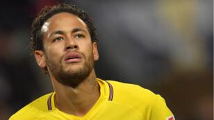 Neymar en février dernier lors du match PSG-OM comptant pour la 27e journée de Ligue 1.