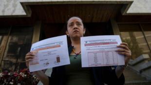 a diputada opositora Gaby Arellano realizó la petición formal para sostener un encuentro con el primer mandatario de Colombia Juan Manuel Santos