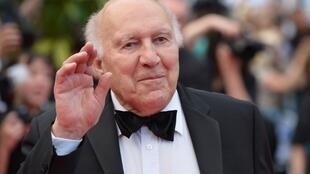 French actor Michel Piccoli at the 67th edition of the Cannes Film Festival in France, on May 17, 2014.