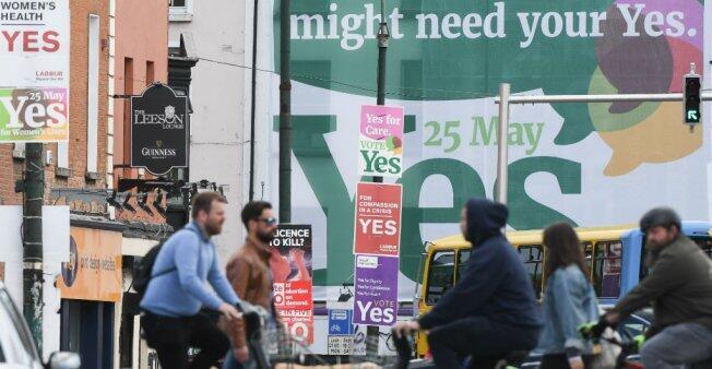 El referendo sobre la liberalización del aborto se celebrará en Irlanda el viernes 25 de mayo.