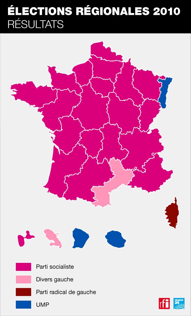 Résultats des élections régionales de 2010