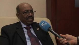 Le président soudanais Omar el-Béchir