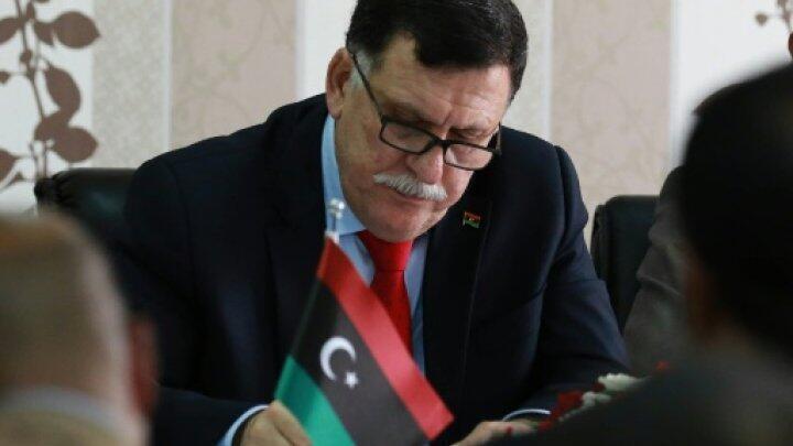 رئيس حكومة الوفاق الوطني الليبية فايز السراج 03/04/2016