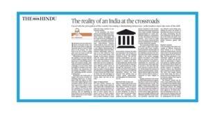 L'Inde à la croisée des chemins
