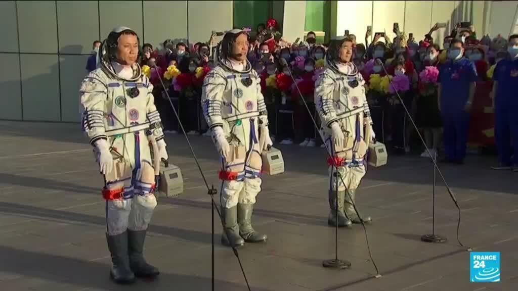 2021-06-17 10:08 Conquête spatiale : décollage réussi pour la mission habitée chinoise