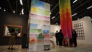 Exhibición de SGR Galería, en el marco de la feria ArtBo, Bogotá, Colombia. 18 de septiembre de 2019.