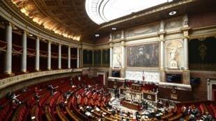 L'Assemblée nationale lors d'un débat sur le projet de loi bioéthique, le 25 septembre 2019 à Paris.