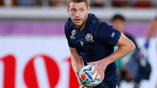 Playmaker: Racing 92 and Scotland fly-half Finn Russell