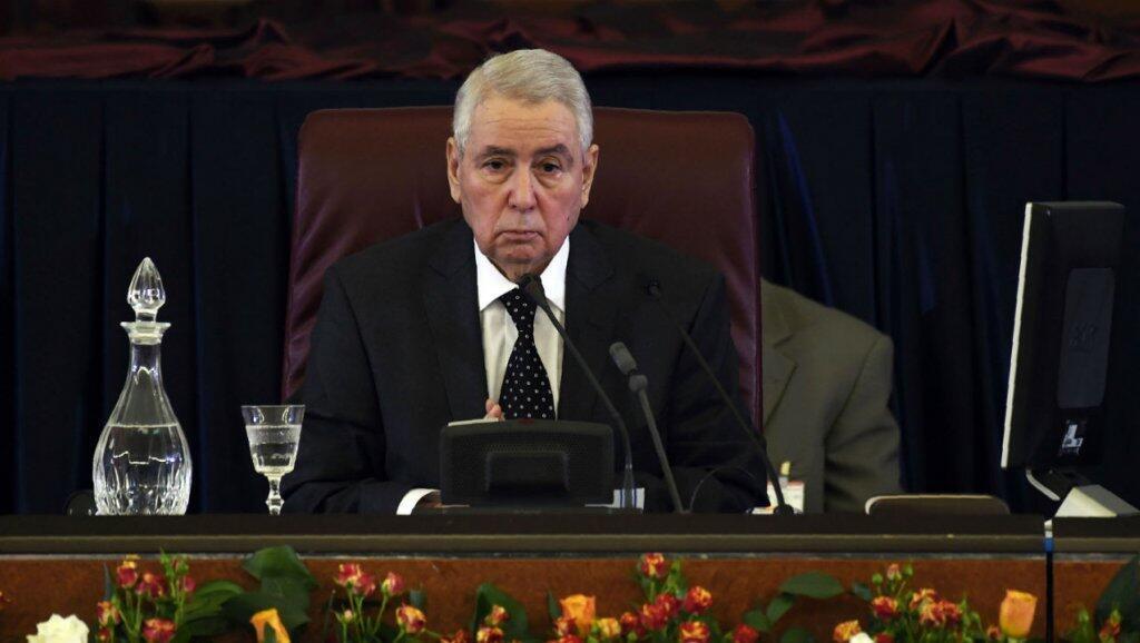 رئيس مجلس الأمة الجزائري عبد القادر بن صالح