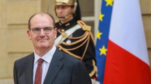 Jean Castex, nouveau Premier ministre, le 3 juillet 2020 à Paris