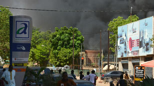 Deux attaques d'hommes armés ont frappé Ouagadougou vendredi 2 mars 2018.