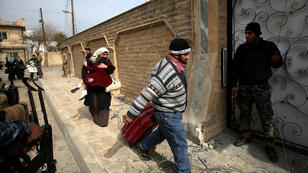 مدنيون في الموصل، 28 فبراير/شباط 2017