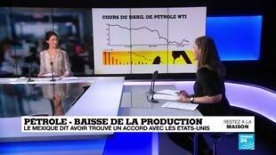 2020-04-10 17:11 Production de pétrole : Vers une baisse globale de la production quotidienne