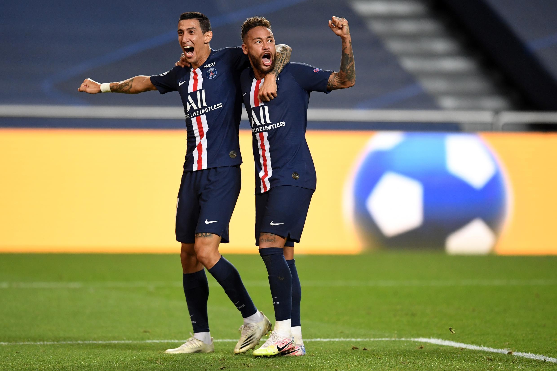 Angel Di Maria et Neymar ont qualifié le PSG pour la première Ligue des champions de son histoire.