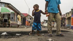 Après des violences, le calme semble être revenu dans les rues de Kinshasa, ici le 20 décembre 2016.
