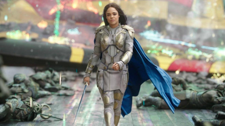 "Valkyrie dans ""Thor : Ragnarok""."