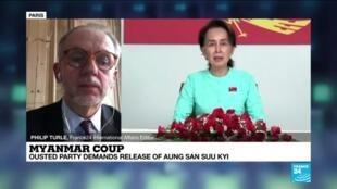 2021-02-02 12:06 Myanmar coup: Suu Kyi no longer West's priority?