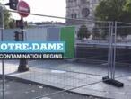 Notre-Dame decontamination begins