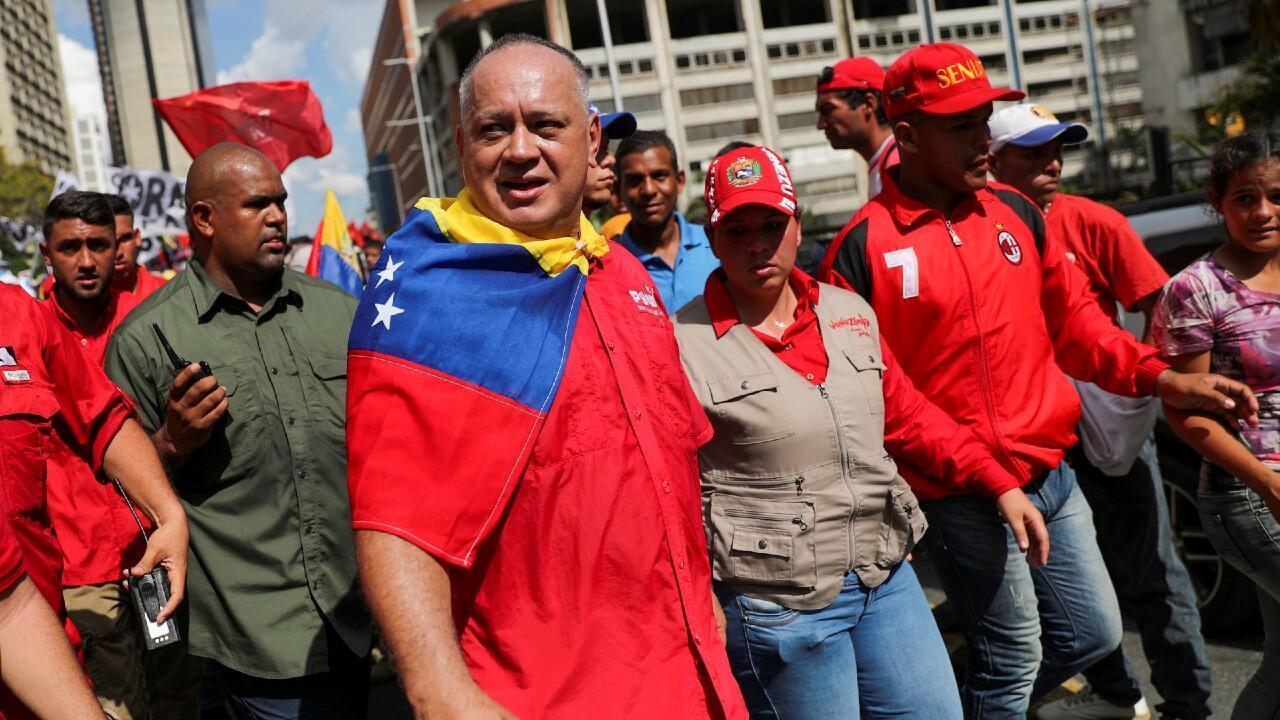 El presidente de la Asamblea Nacional Constituyente de Venezuela, Diosdado Cabello, dio positivo en coronavirus.
