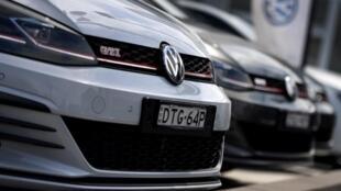 Automóviles marca Volkswagen.